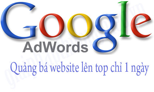 bang gia google adwords